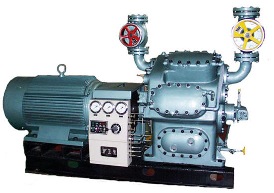 Ammonia-Refrigeration-Reciprocating-Piston-Compressor-Unit
