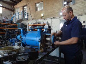 Vacuum water pump